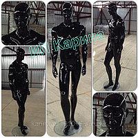 Манекен , кукла пр-во Турция , черный, глянцевый мужчина.