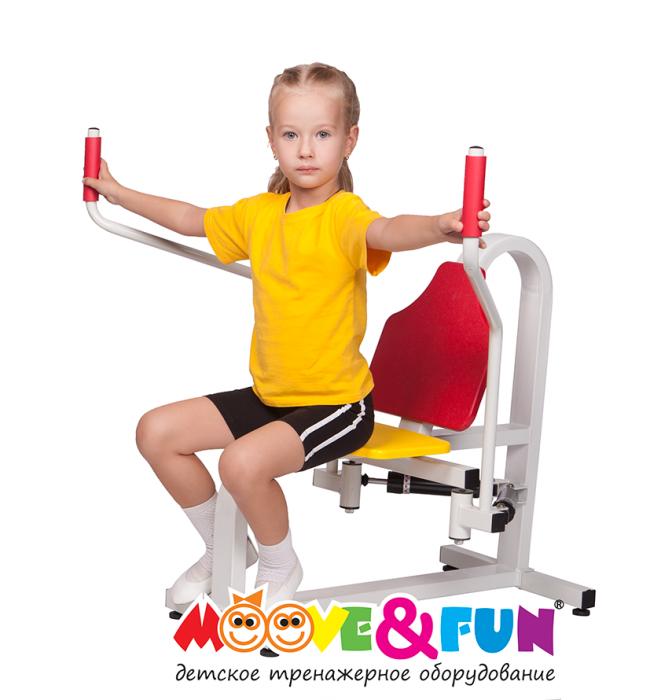 Детский тренажер Баттерфляй 5-8 лет (MF-E05) - фото 2