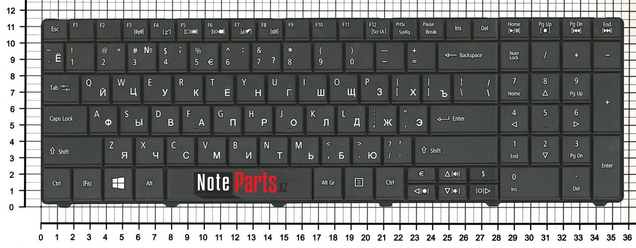 Клавиатура для ноутбука Acer TravelMate 5740 / 5744 / Aspire E1-571 RU