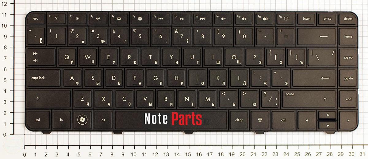 Клавиатура для ноутбука HP G4-1000, G6-1000, CQ43