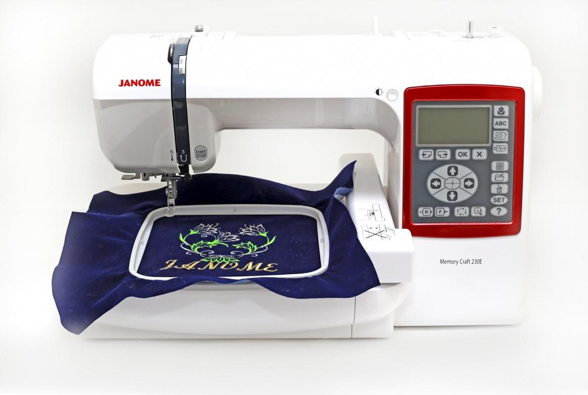 Вышивальная машина Janome Memory Craft МС 230E