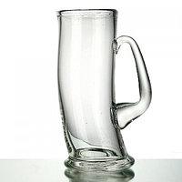 Кружка д/пива Пьяная 7265 СТ 100/1-гладь хол.отр. 500г