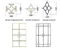 Декоративная раскладка для стеклопакетов (шпроссы)