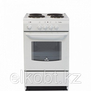 Электро плита  De luxe 5004.12Э БЕЛАЯ