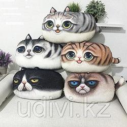 Большие подушки кошки