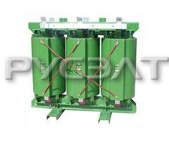 Трехфазный сухой трансформатор с литой изоляцией ТСЛ (ТСГЛ) -500