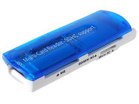 """Считыватель смарт-карт """"SIYOTEAM Card Reader All in one USB 2.0(M2,MS Duo,MS Pro Duo,RS MMC...),M:SY-680"""""""