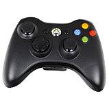 Беспроводной контроллер Wireless Original Black (Xbox 360), фото 2