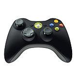 Беспроводной контроллер Wireless Original Black (Xbox 360), фото 5