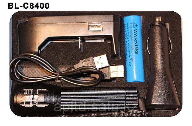 Фонарик светодиодный с аккумулятором + зарядка Tavalga - фото 2