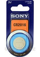 Часовая таблетка Sony CR2016B1A на часы, калькулятор, сигнализацию
