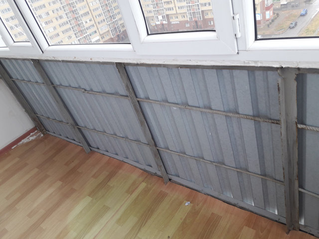 Балкон под ключ по адресу Кошкарбаева 34 4