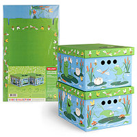 VALIANT Короб картонный, складной, малый, 25*33*18.5 см, набор 2 шт., УТЯТА&ЛЯГУШАТА, фото 1