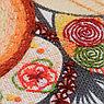 """Вышивка на ткани с напечатанным рисунком """"Волшебное перо"""", фото 3"""