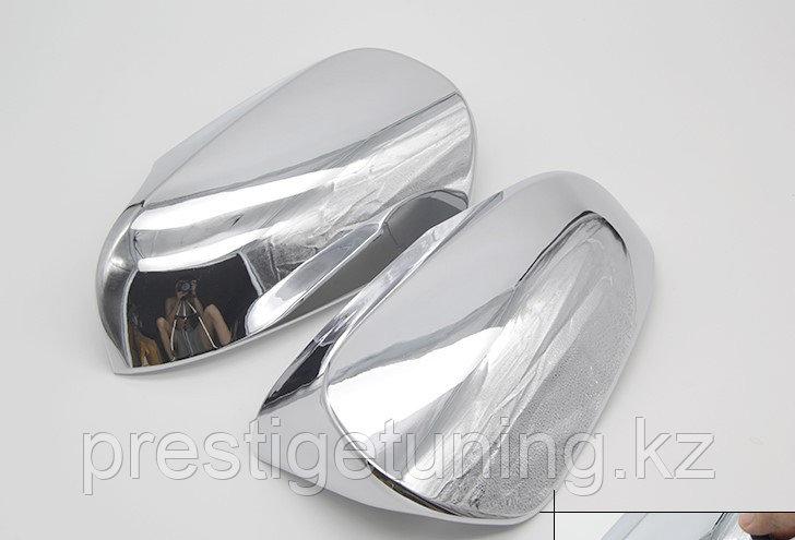 Корпуса зеркал хром (пластик) V50/V55