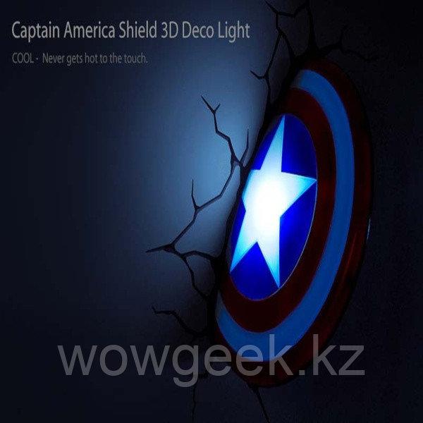 """Настенный светильник """"Капитан Америка"""""""