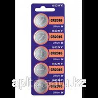 Часовая CR2016 Sony CR2016BEA  таблетка сигнализацию, калькулятор, фото 1