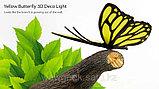 """Настенный светильник 3D """"Бабочка"""", фото 2"""