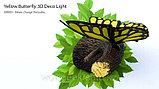 """Настенный светильник 3D """"Бабочка"""", фото 4"""