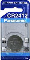 Батарейка  таблетка CR 2412 Panasonic , 1шт