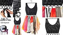 Органайзер для платков и шарфов «Маленькое платье» (на вешалке)