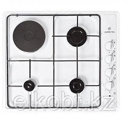 Встроенная комбинированная плита GRETA СВ ГЭ 3/1-1-220 белая