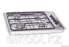 Встроенная комбинированная плита GRETA СВ 4 из нержавеющей стали