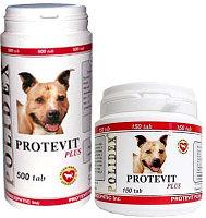 POLIDEX Protevit plus, Полидекс, витамины для улучшения обмена в-в, уп. 500 табл