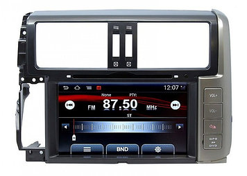 Штатная магнитола на Toyota Prado-150