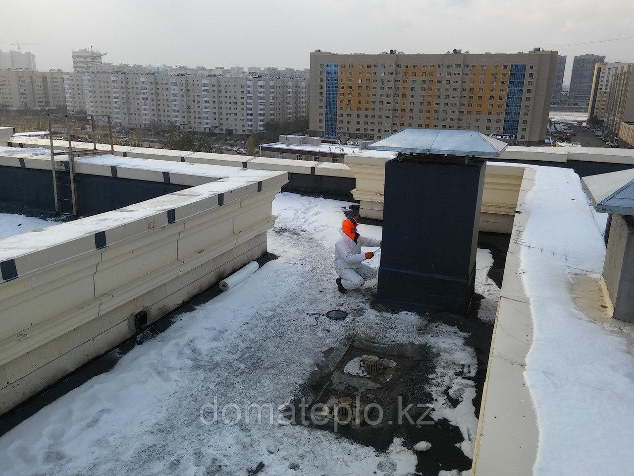 Гидроизоляция крыш зимой, звоните - мы Вам поможем