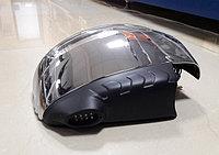 Накладки на зеркала с поворотником и подсветкой Mitsubishi L200 (хром)