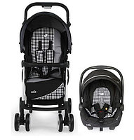 Коляска Travel System Aire LX Midnight Dots Joie, фото 1