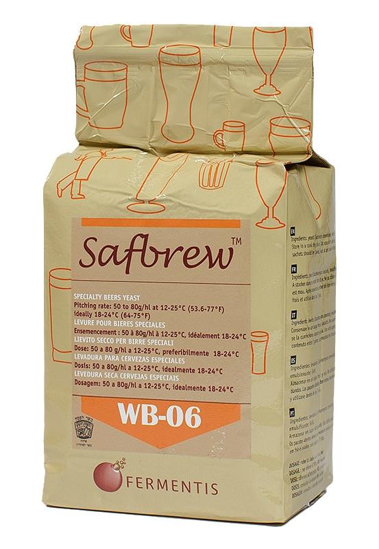 Дрожжи пивные сухие Safbrew WB-06 (500 гр.) - верхового брожения