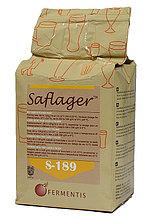 Дрожжи  пивные сухие Safale S - 189 (500 гр.) - верхового брожения
