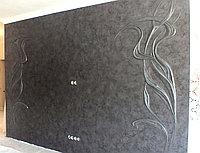 Гипсовое рельефное панно в стиле арт дэко. Дуновение.