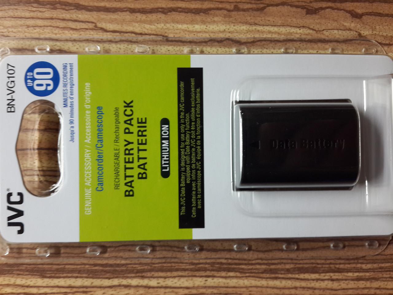 Аккумулятор для видеокамеры JVC BN-VG 107