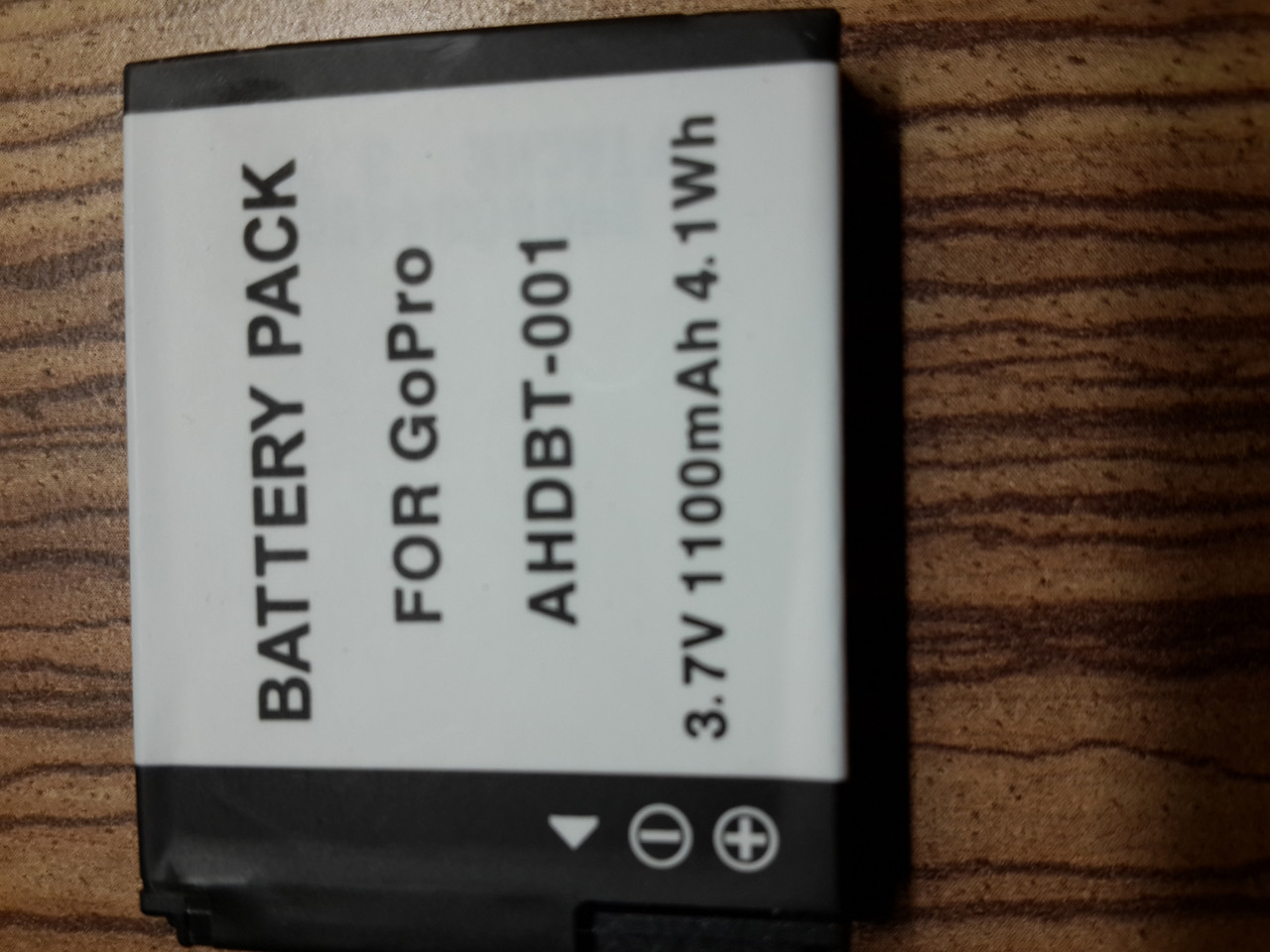 Аккумулятор для Go pro 001