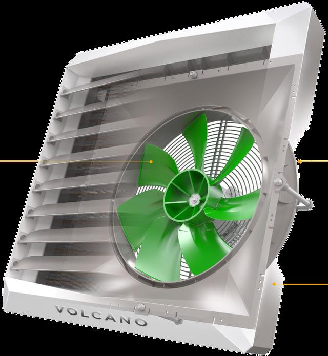 воздушно-отопительный агрегат Volcano VR mini new