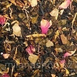 Зеленый чай с малиной