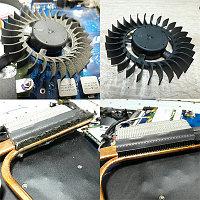 Чистка ноутбука с заменой термо-пасты
