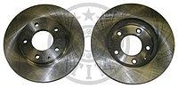 Тормозные диски Mazda 323 (94-98, задние, D275, Optimal)