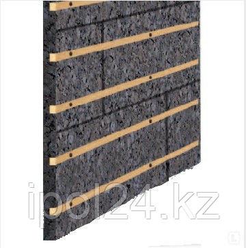 Черный агломерат IZORA 40 мм (с вставками ОСБ)