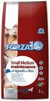 11588 Forza10 Maintenance small|medium, Форца10 с ягненкои и рисом для мелких и средних пород, уп. 2кг.