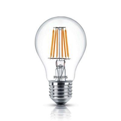Филаментная LED лампа Philips «Classic» 4,3W 2700K