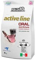 100619 Forza10 Oral Active, Форца10 диетический корм для собак для защиты полости рта, уп. 4кг.