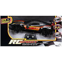 New Bright  Игрушка р/у Corvette C7R (Чёрный)