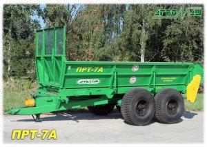 Машина для внесения твердых органических удобрений ПРТ-7А, фото 2