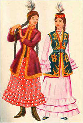 Қазақтың ұлттық киімдерінің ерекшеліктері