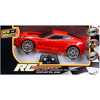 New Bright  Игрушка р/у Corvette Z06 (Красный), фото 1