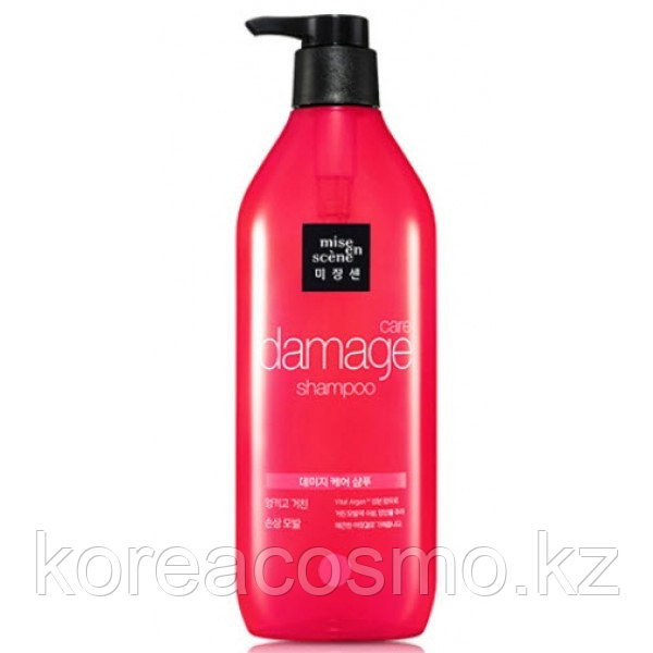 Восстанавливающий шампунь - Mise En Scene Damage Care Sleek and Smooth Shampoo